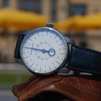 Jednoručkové hodinky - specialita Martina Brože